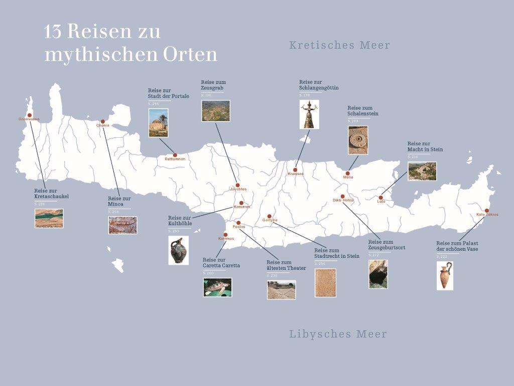 Kreta Karte Mit Sehenswürdigkeiten.Geheimnisvolles Kreta Von Beat Schneider Edition Amalia